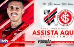 Athletico-PR x Internacional: veja como assistir ao jogo do Campeonato Brasileiro pela Twitch