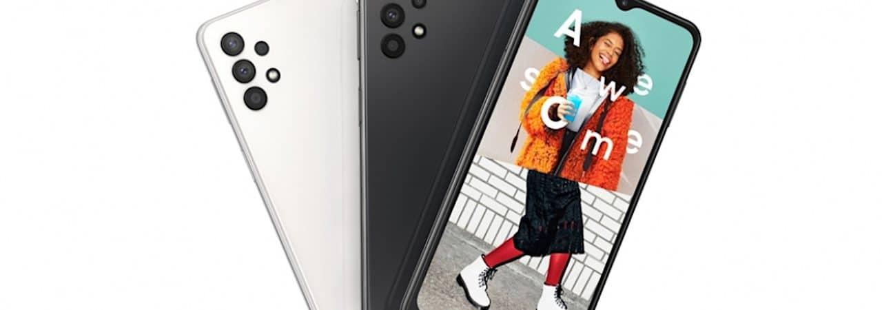 Imagem promocional do Samsung Galaxy A32