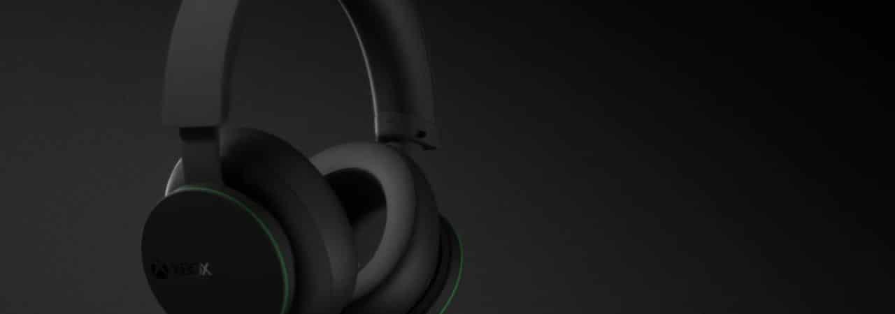 Imagem mostrando o headset wireless do Xbox