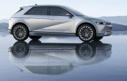 Hyundai Ioniq 5 percorre até 100 km com cinco minutos de carga