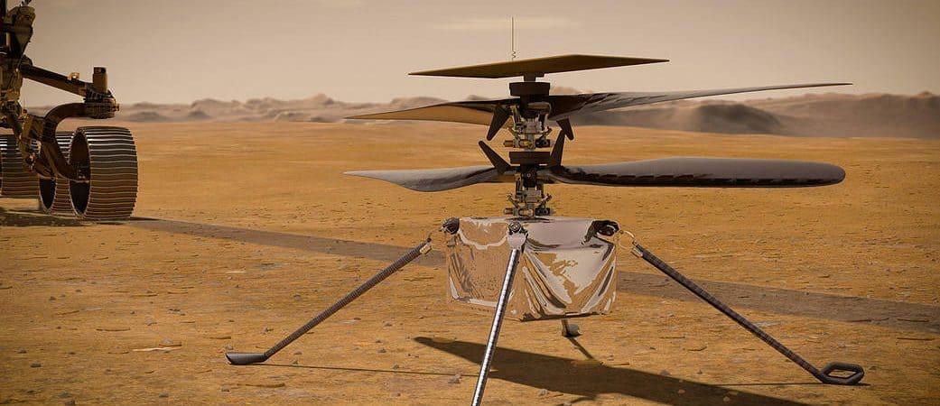 Ingenuity: drone da Nasa envia primeiro relatório após pousar em Marte