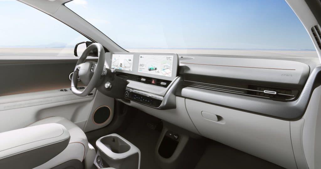 Interior of the Hyundai Ioniq 5. Image: Hyudai / Disclosure