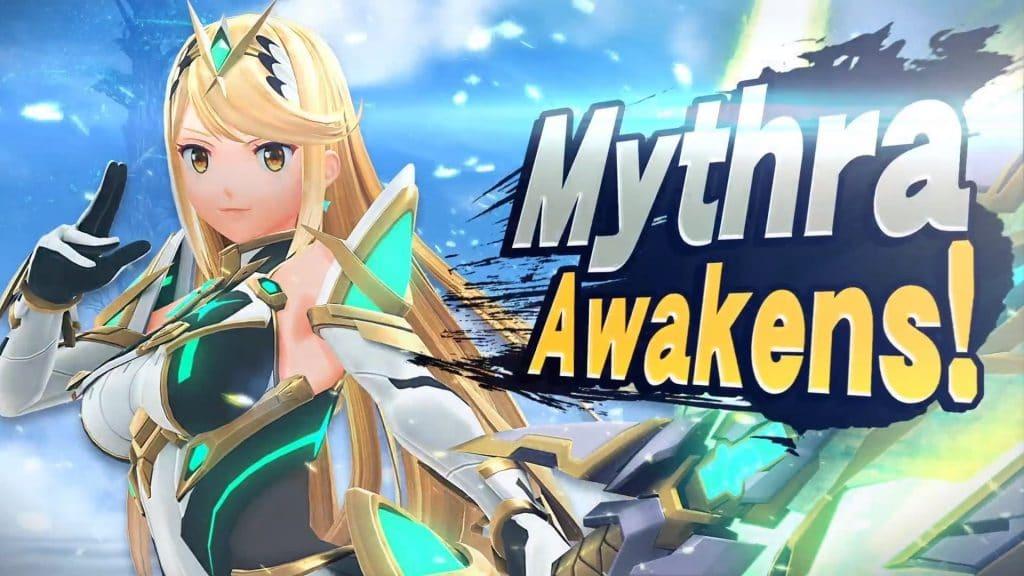 mythra, personagem de xenoblade