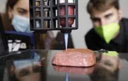 """Startup cria """"carne"""" de proteína vegetal produzida por impressão em 3D"""