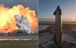 Após impasse, SpaceX recebe autorização e testa Starship SN9