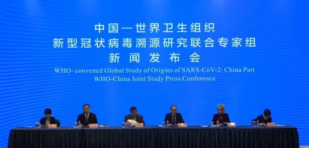 Coletiva de imprensa sobre investigações do coronavírus