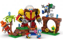 Sonic puede convertirse en un conjunto de piezas de Lego gracias a la idea de un fan