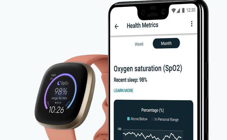 Dispositivos Fitbit