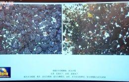 China compartilha primeiras imagens de amostras do solo lunar