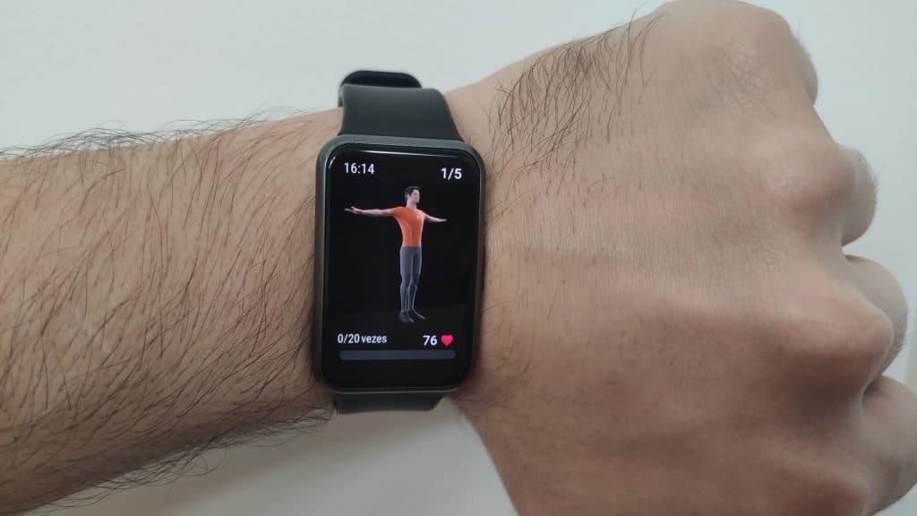 Huawei Watch Fit - Exemplo de atividade