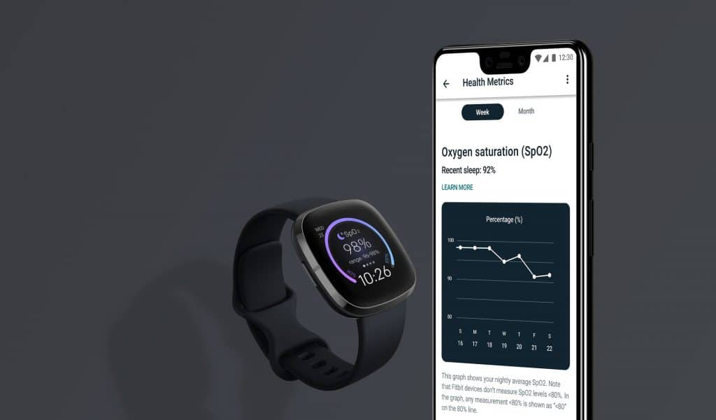 Ferramenta Health Metrics, da Fitbit