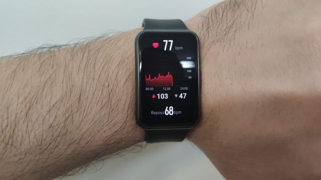 Huawei Watch Fit - Batimentos cardíacos