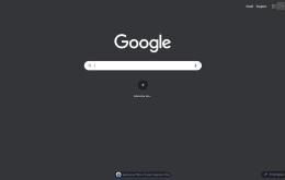 Google testa modo escuro em buscas pelo desktop