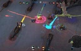 Gratuito, jogo brasileiro 'Heavy Metal Machines' é lançado para consoles