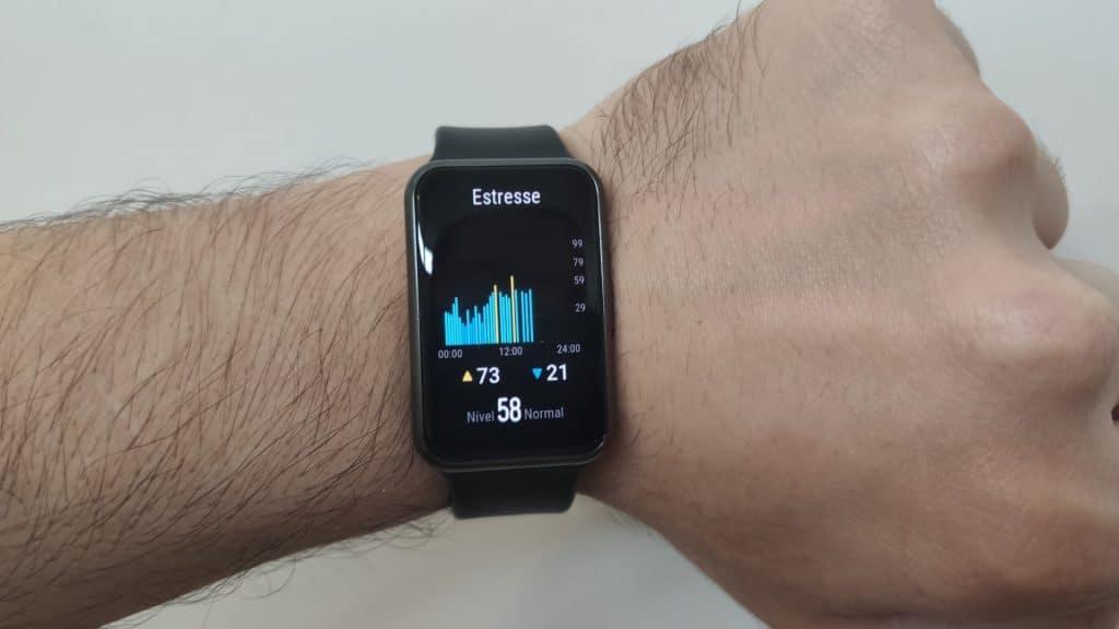 Huawei Watch Fit - Monitoramento de estresse