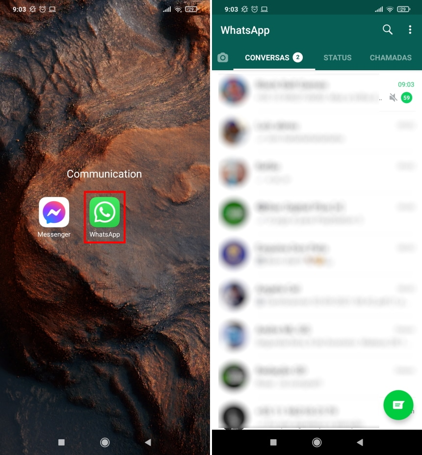 Como remover o som de um vídeo antes de enviá-lo no WhatsApp - Passo 1