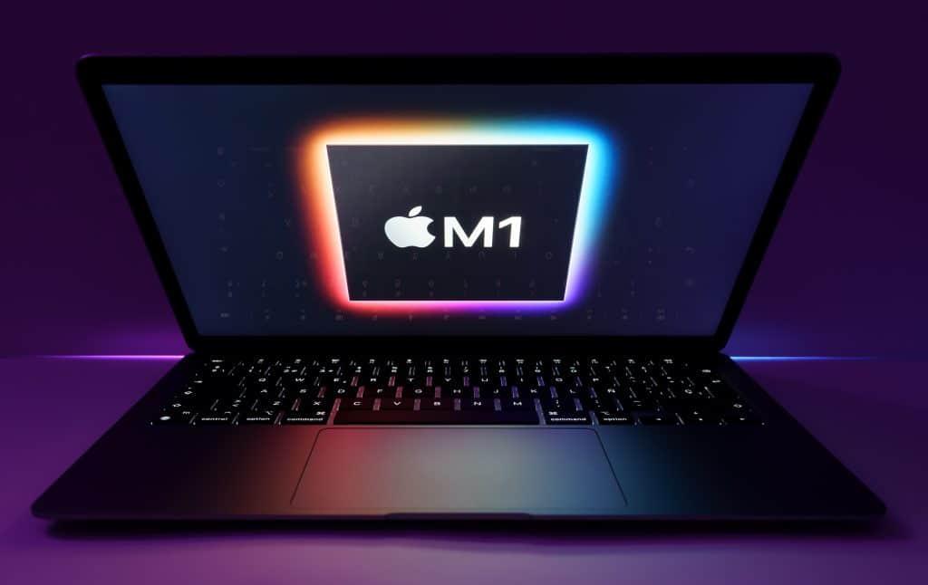 Intel compara Core i7 com o novo M1 Apple