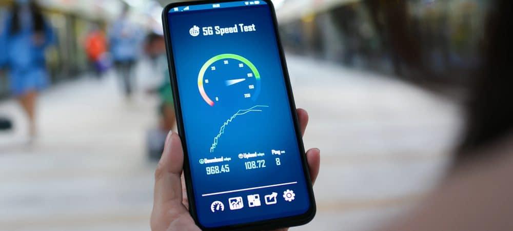 Velocidad 5G