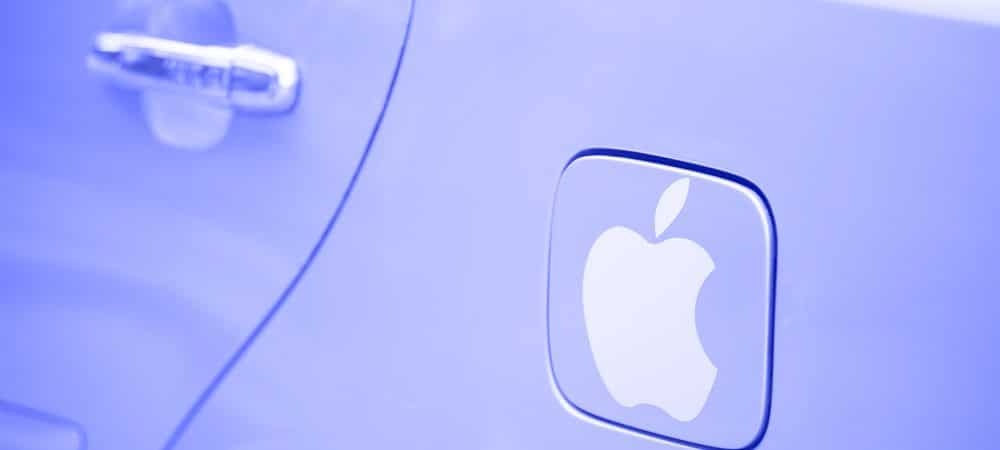 Carro Apple