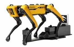 Cão-robô Spot ganha carregamento automático e controle via web
