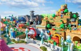 Super Nintendo World ganha vídeos que revelam detalhes do local