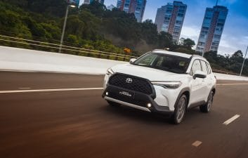 With flex and hybrid versions, the new Toyota Corolla Cross is launched in Brazil