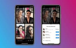 Live Rooms do Instagram permitem transmissões ao vivo com até 4 pessoas