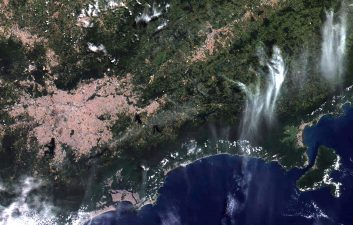 Inpe releases the first images of the Brazilian satellite Amazônia 1