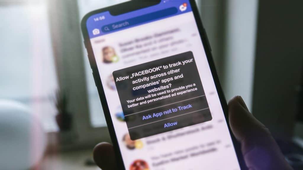 Novo recurso de privacidade App Track Transparency, da Apple