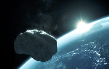 A car-sized asteroid scraped across the Earth