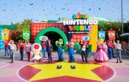 Super Nintendo World é inaugurado no Japão; veja imagens e vídeo