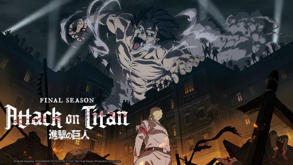'Attack on Titan Final Season'. Imagem: Crunchyroll/Divulgação