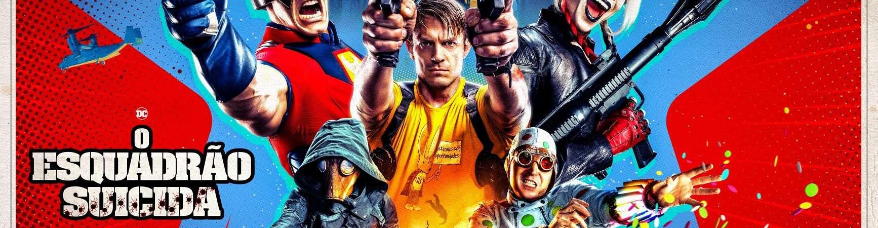 Cartaz de 'O Esquadrão Suicida'. Imagem: Warner Bros. Pictures/DC Comics
