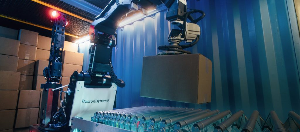 Stretch, robô da Boston Dynamics para armazéns