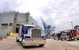 """Caminhões dos filmes """"Transformers"""" de quase R$ 1,5 milhão chegam ao Brasil"""