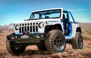 Jeep presents Magneto, its electric car concept