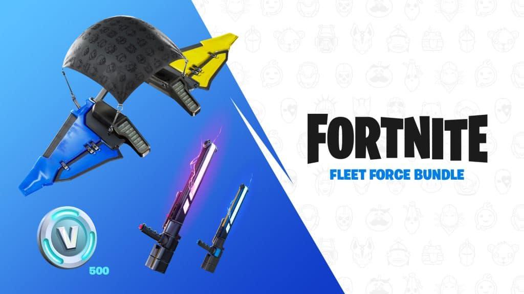 """Além do controle em si, compradores do conjunto ganharão itens e dinheiro dentro do jogo """"Fortnite"""". Imagem: Nintendo/Divulgação"""