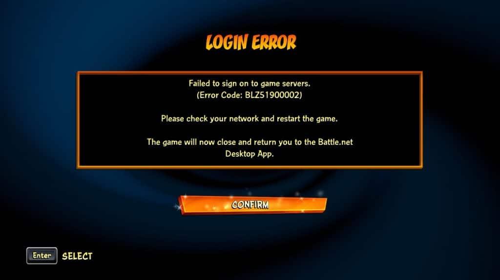 """Imagem de erro do jogo """"Crash Bandicoot 4"""", que exige conexão online constante para funcionar"""