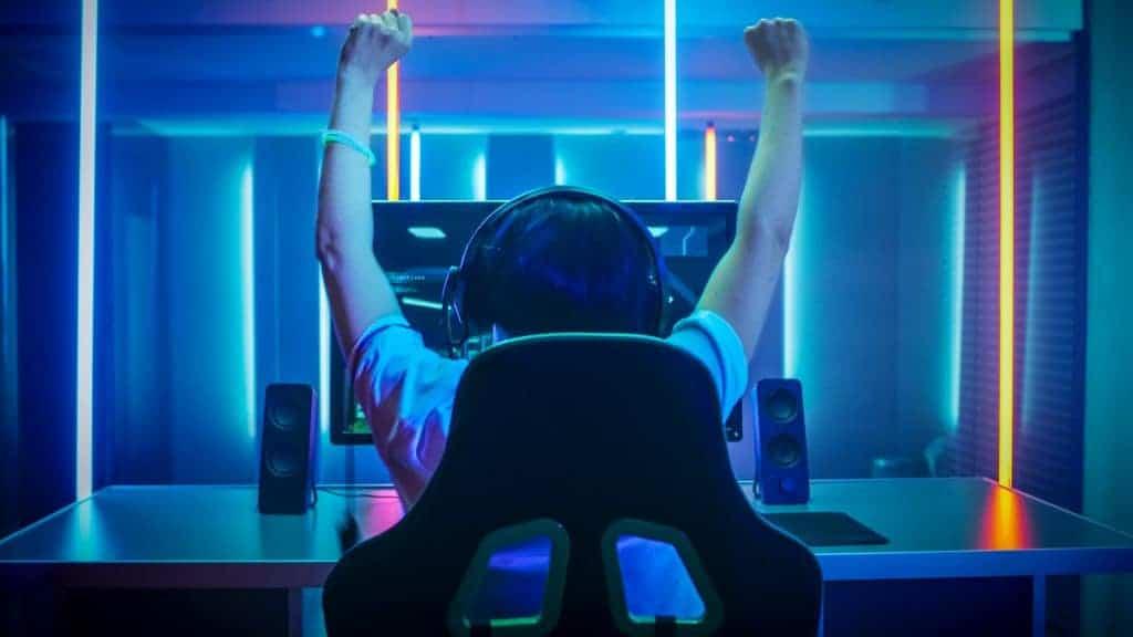 Gamer. Imagem: Shutterstock