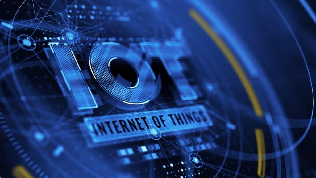 Ilustração de Internet das Coisas (IoT)