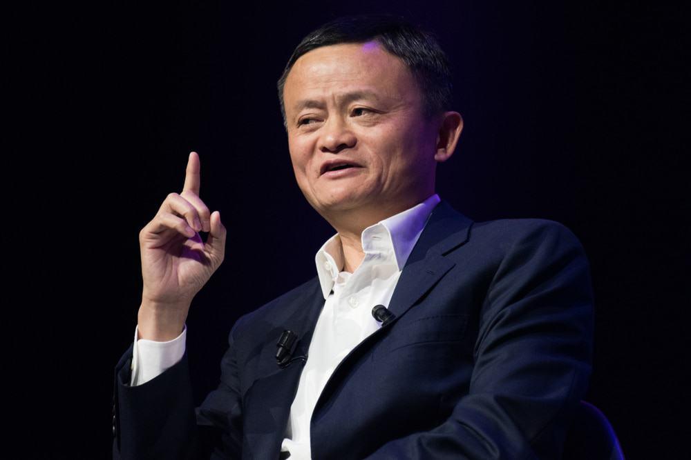 Jack Ma, fundador da empresa da China Alibaba