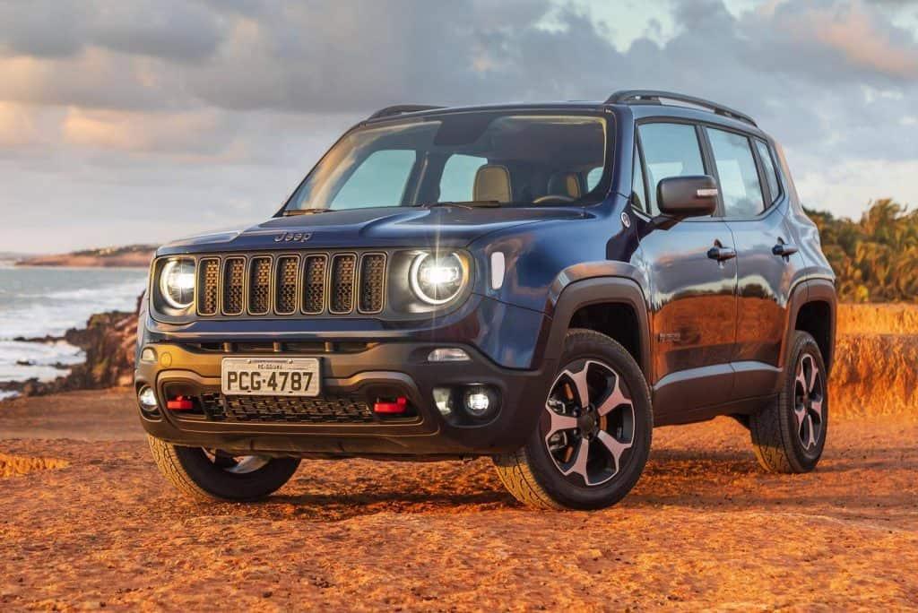 Jeep Renegade. Imagem: Divulgação/Jeep