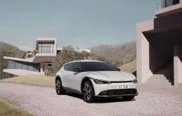 Kia divulga imagens do EV6, o primeiro carro exclusivamente elétrico da marca