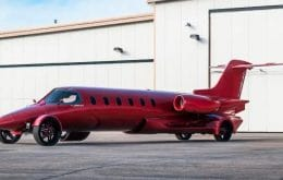 'Learmousine': avião que virou limusine pode ser seu por US$ 5 milhões