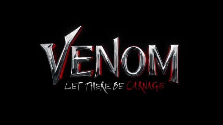 Logo de 'Venom 2: Let There Be Carnage'. Imagem: Sony Pictures/Divulgação
