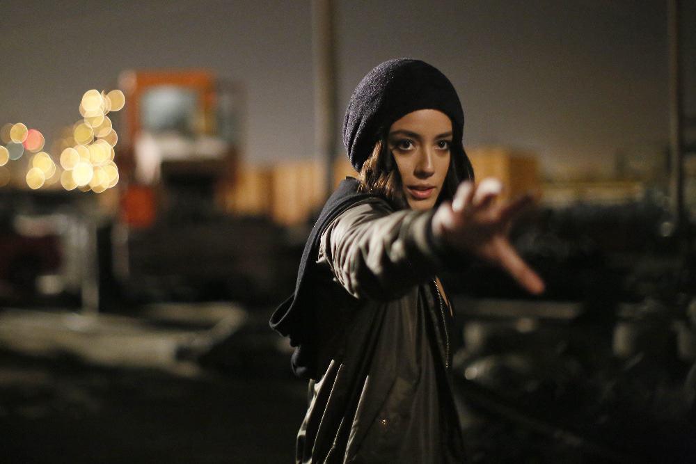 Chloe Bennet em 'Agentes da Shield'. Imagem: ABC/Jennifer Clasen