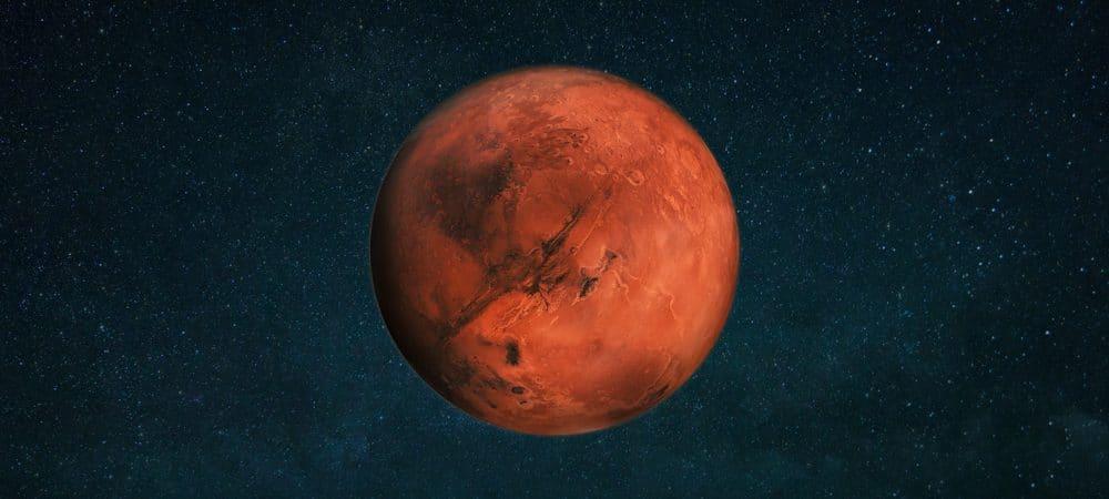 Representação de Marte