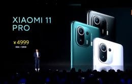 Xiaomi lança o Mi 11 Pro e Mi 11 Ultra