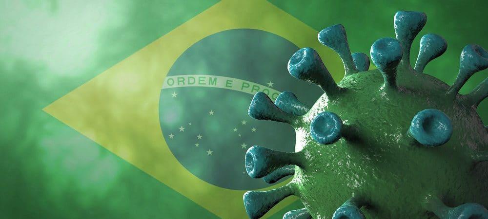 Muertes de covid en Brasil