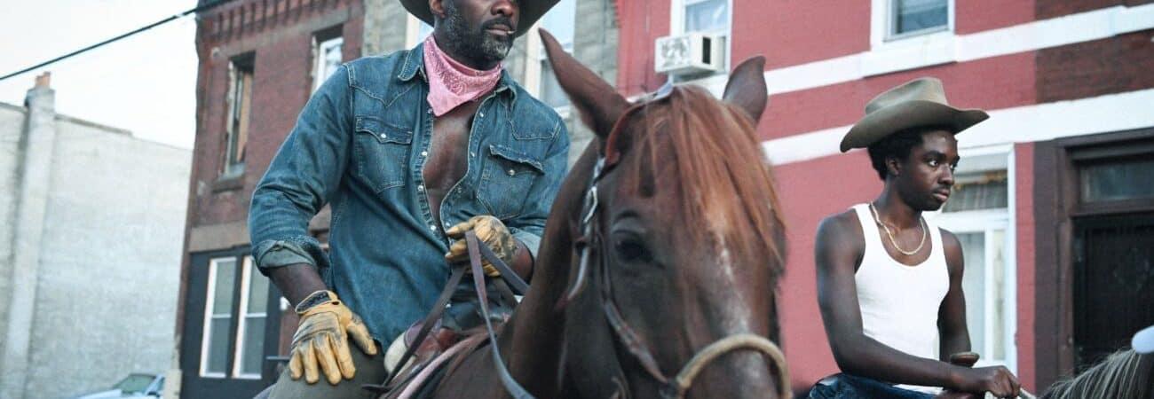 Netflix lança trailer de 'Alma de Cowboy', filme com Idris Elba e Caleb McLaughling. Imagem: Netfliz/Divulgação
